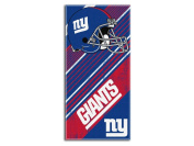 Northwest Ny Giants 28X58 Nfl Style 911 Diagonal Beach Towel
