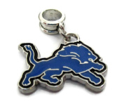 DETROIT LIONS OFFICIALLY licenced CHARM WITH CONNECTOR