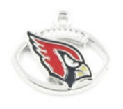 ARIZONA CARDINALS OFFICIALLY licenced CHARM WITH CONNECTOR