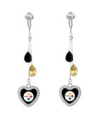 Pittsburgh Steelers Drop Earrings CLIP