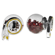 NFL Washington Redskins Front/Back Stud Earrings