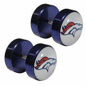 NFL Denver Broncos Faux Ear Plug