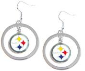 Pittsburgh Steelers Hoop Earring