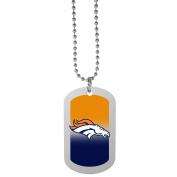 NFL Denver Broncos Team Tag Necklace, Steel, 70cm
