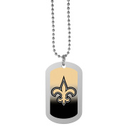 NFL New Orleans Saints Team Tag Necklace, Steel, 70cm