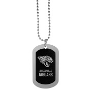 NFL Jacksonville Jaguars Chrome Tag Necklace, 70cm