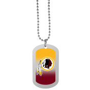 NFL Washington Redskins Team Tag Necklace, Steel, 70cm