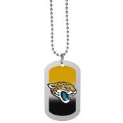 NFL Jacksonville Jaguars Team Tag Necklace, Steel, 70cm