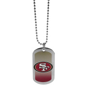 NFL San Francisco 49Ers Team Tag Necklace, Steel, 70cm