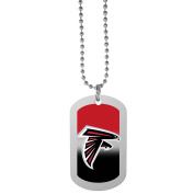 NFL Atlanta Falcons Team Tag Necklace, Steel, 70cm