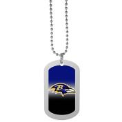 NFL Baltimore Ravens Team Tag Necklace, Steel, 70cm