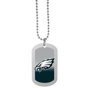 NFL Philadelphia Eagles Team Tag Necklace, Steel, 70cm