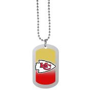 NFL Kansas City Chiefs Team Tag Necklace, Steel, 70cm