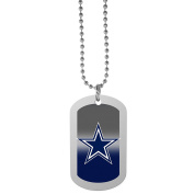 NFL Dallas Cowboys Team Tag Necklace, Steel, 70cm