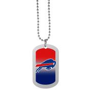 NFL Buffalo Bills Team Tag Necklace, Steel, 70cm