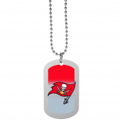 NFL Tampa Bay Buccaneers Team Tag Necklace, Steel, 70cm