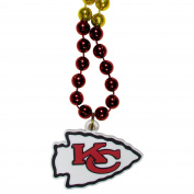 NFL Kansas City Chiefs Mardi Gras Necklace, 90cm