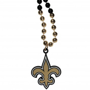 NFL New Orleans Saints Mardi Gras Necklace, 90cm