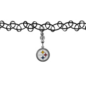NFL Pittsburgh Steelers Knotted Choker, Black, Stretch