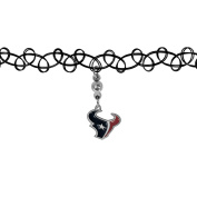NFL Houston Texans Knotted Choker, Black, Stretch