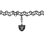 NFL Oakland Raiders Womens Knotted Choker