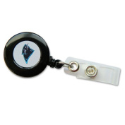 Carolina Panthers Retractable Badge Reel Id Ticket Clip Nfl