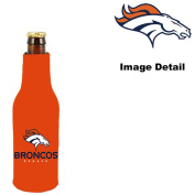 Denver Broncos NFL Team Logo Drink Beer Beverage Bottle Insulated Picnic Outdoor Party Beach BBQ Kooler Bottle Cooler - 350ml Classic Bottle