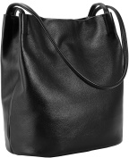 Iswee Lady's Leather Totes Shoulder Bag Celebrity Handbags and Top Handle Bag for Women