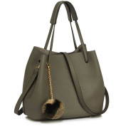 LeahWard Women's Faux Leather Shoulder Bags Quality Nice Handbags For School A4 Holder CW190