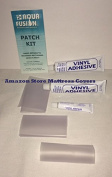 Three Vinyl Repair Patch Kits for Waterbed mattresses, Air beds, Inflatable Toys, Rafts, Inflatable pool seats, Beach Balls, Pool Covers, Boat , Liners, Spa covers & most vinyl products