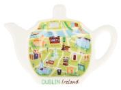 Map Of Dublin Designed Tea Bag Holder
