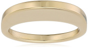 may mOma Women's Fan Metal High Thin Ring - Size L