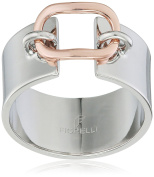 Fiorelli Costume Fashion Rose Gold Loop Detail Ring - Size R