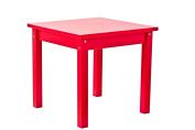 Hoppekids MDF Mads Children's Table, Wood, Red