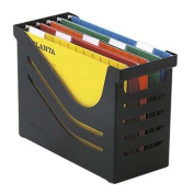 Office box A4 black hanging files with