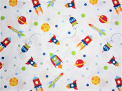Kids Space 100% Microfiber (FLAT SHEET ONLY) Size FULL Boys or Girls Kids Bedding