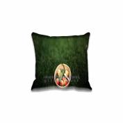 Square 50cm x 50cm Zippered Summer Peaches Pillowcases Digital Print Adults Kids Cushion Covers