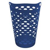 Starplast Tall Flex Laundry Basket In Cobalt