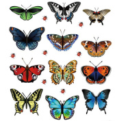 Startview Low Price Butterfly Sticker,New Landscaping Decoration,12 Butterfly Stickers