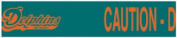 Miami Dolphins Tailgating Tape