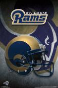 St. Louis Rams- Helmet 2015 Poster 60cm x 90cm