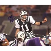 Steiner Sports NFL New York Jets Kellen Clemens Over Centre vs. Vikings Horizontal 8x10 Photo