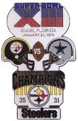 Super Bowl XIII Oversized Commemorative Pin