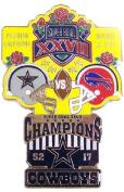 Super Bowl XXVII Oversized Commemorative Pin