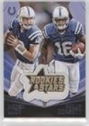 Andrew Luck; Phillip Dorsett (Football Card) 2015 Panini Rookies & Stars - Embroidered Patches #EP8