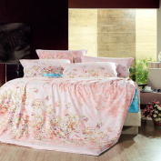 ZLQZZPP Home Textiles Cotton Semi-active Printing And Varying Four Sets Of Cotton Bedding,2-200*230