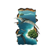 DESY 3D Wall Stickers Wall Decals Style Creative Seascape PVC Wall Stickers