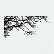 DESY Wall Stickers Wall Decals Style Black Tree Branch PVC Wall Stickers