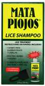 NEW 'MATA PIOJOS' HEAD HAIR GENITAL PUBIC BODY LICE CRABS NITS CURE REMEDY TREATMENT SHAMPOO