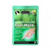 Details about 1 pair Moisturising Foot Mask Socks Care Heal Damaged Skin Dead Skin Callusses